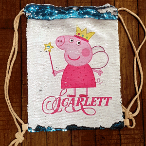 "Sac à dessin secret ""Peppa Pig"""