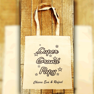 "Tote Bag ""Super Grand Papy"""