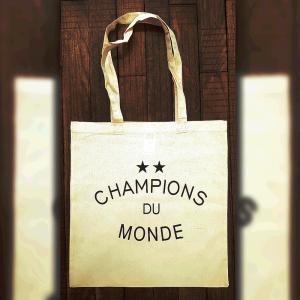 "Tote Bag ""★★ Champions du Monde"""