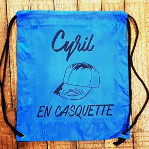 """Sac """"Cyril en casquette"""""""
