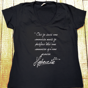 "T-shirt ""Connasse vs Hypocrite"""