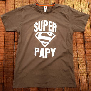 "T-shirt ""Super Papy"""