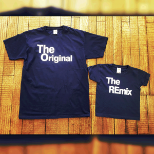 "T-shirts ""The Original"" & ""The REmix"""