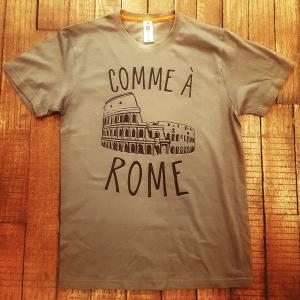 """T-shirt """"Comme à Rome"""""""