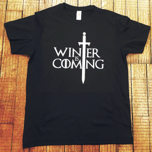 "T-shirt Game of Thrones ""Winter is Coming"""
