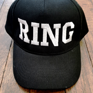 "Casquette brodée ""Ring"""