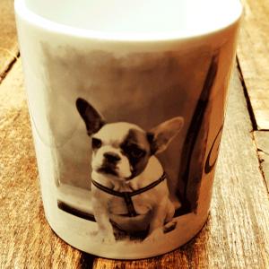 Mug photographie chien