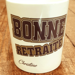 "Mug ""Bonne retraite"""
