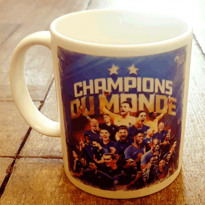 "Mug Football ""Champions du monde"""